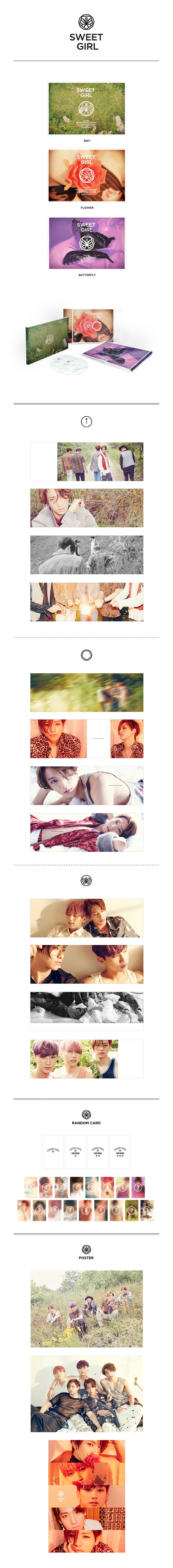 B1A4 - 6th Mini Album(SWEETGIRL)